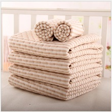 Organic colored cotton Waterproof EVA Layer Baby Changing Mat Bebe Waterproof Changing Urine Pad Bed Sheets
