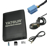 Yatour yt m06 for Fiat Punto Coupe Bravo Alfa Romeo 147 159 Blaupunkt Connect Nav Radio Car MP3 Player USB AUX Bluetooth Adapter