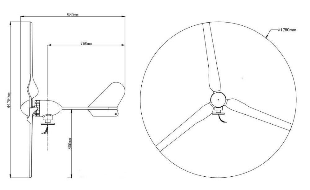 turbina eolica residencial 600 w 48 24 02