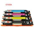 Для HP CF350A CF351A CF352A CF353A 130A Тонер Cratridge CF350 CF351 352 353 Для HP Impressoras Для HP Laserjet Цвет M177 M176