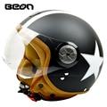 2016 brands fashion casque motorcycle helmet half face four season casco moto beon helmets capacete for men women BEON-110