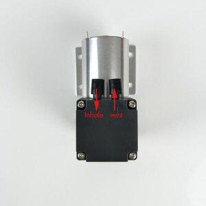 Image 5 -  80kpa מיני ואקום משאבת DC 12V 24V קטן שלילי לחץ יניקה אוויר משאבת סרעפת משאבת כוסות רוח ואקום משאבת 12L/min