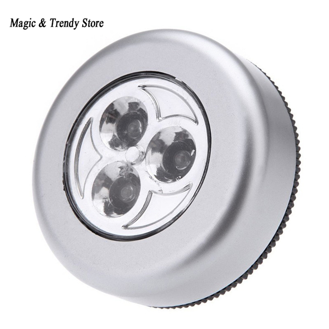 wandlamp keukenkast bu kast verlichting 4 led wireless push touch lamp hoge kwaliteit