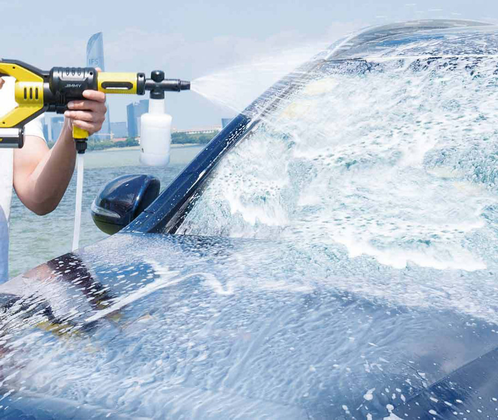 [Free Duty]Xiaomi JW31 Wireless Car Flush Gun Washing Gun Water Power Cleaner Garden Washer 5 Modes Adjustable Hose  EU Plug