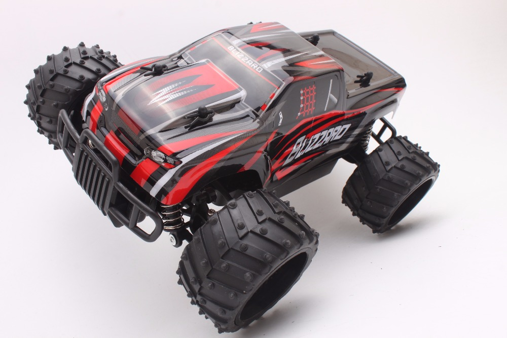 Coche Del RC 2.4 GHz Rock Crawler Truck 1:16 Escala 4WD Rally Car Off-road Carre