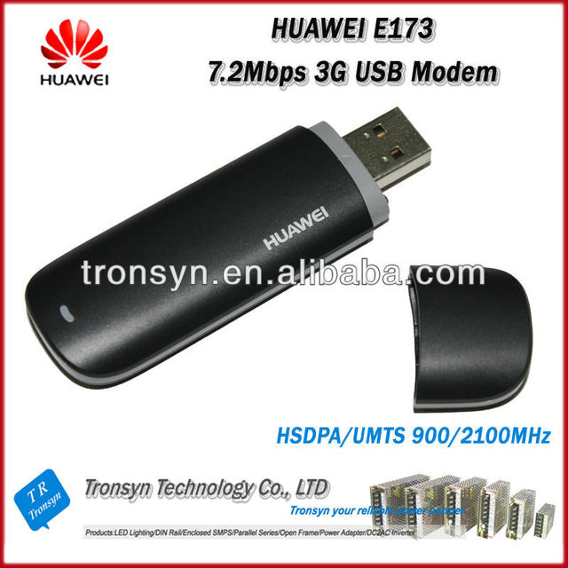 US $176 17 5% OFF|Wholesale Original Unlocked HSDPA 7 2Mbps HUAWEI E173 3G  USB Modem And 3G USB Dongle With Sim Card Slot-in Modems from Computer &