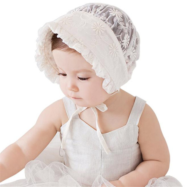7970e300426 Vintage newborn Ladies photography accessories Infant Newborn Baby Girls  Kids Lace Hat Cap Beanie Bonnet Hats Accesorries