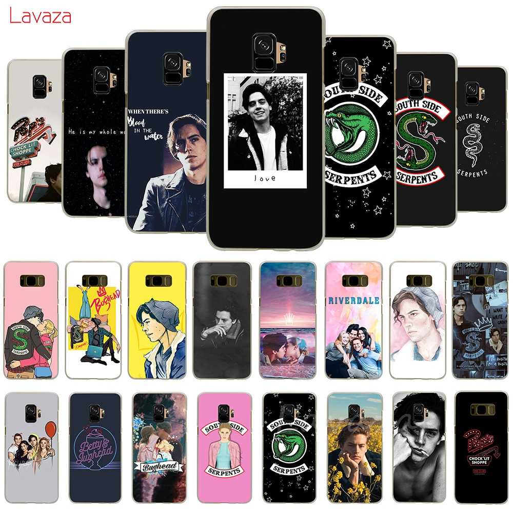 Lavaza Riverdale TV Southside Serpent Hard Phone Case for Samsung Galaxy A50 A70 A6 A8 A9 2018 S8 S9 S10 Plus Cover
