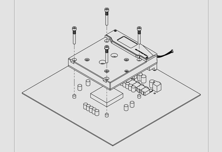 Купить с кэшбэком BARROW Monoblock use for ASUS ROG R6E / R6A / X299 Motherboard / RAMPAGE VI EXTREME/APEX - Nickel Radiator RGB Support AURA SYNC