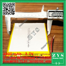 1 pcs. li-ion 3.7 v 4000 mAh batería recargable 3.7 v 4000 mah tamaño: 3x100x100mm