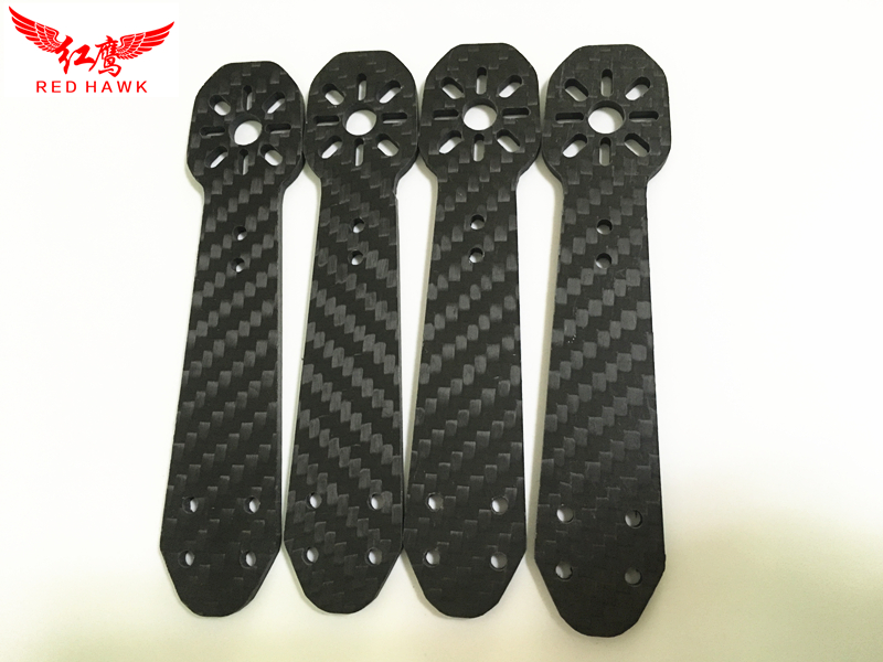 3mm 4mm Carbon Fiber Arm For 250mm FPV Quadcopter Replacement QAV250 ZMR250 carbon fiber zmr250 c250 quadcopter