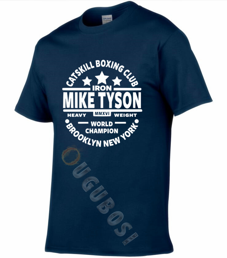 MIKE TYSON MENS   T     SHIRT   BOXINGS DESIGN IRON GYM TRAINING TOP #MIKE