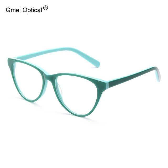Sunglass Style Cat-Eye Hypoallergenic Acetate Full Rim Women's Optical Eyeglasses Frames With Spring Hinges Women Glasses Frame