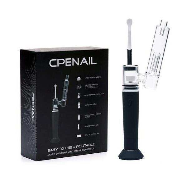 Портативная установка Dab для воска E Nail Kit керамический кварцевый титановый Nail 1100 мАч аккумулятор электрическая ручка Dab со стеклянной водоп...