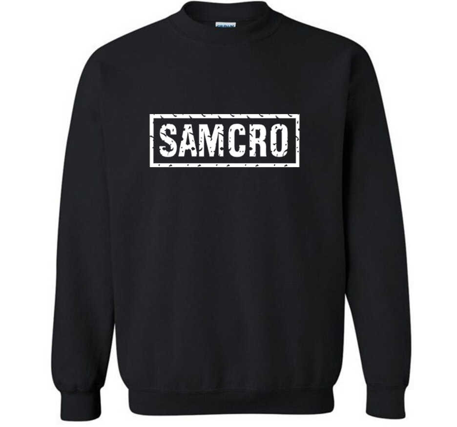 SOA Sons of anarchy il bambino di nuovo Modo SAMCRO Uomini Sportswear Felpe Maschio Casual Felpa pullover In Pile HipHop Guerra