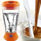 450ml Mini Electric Blender Manual Push Rechargeable Juicer Milk Coffee Mixer Food Mixer Water Bottle Shaker Blender