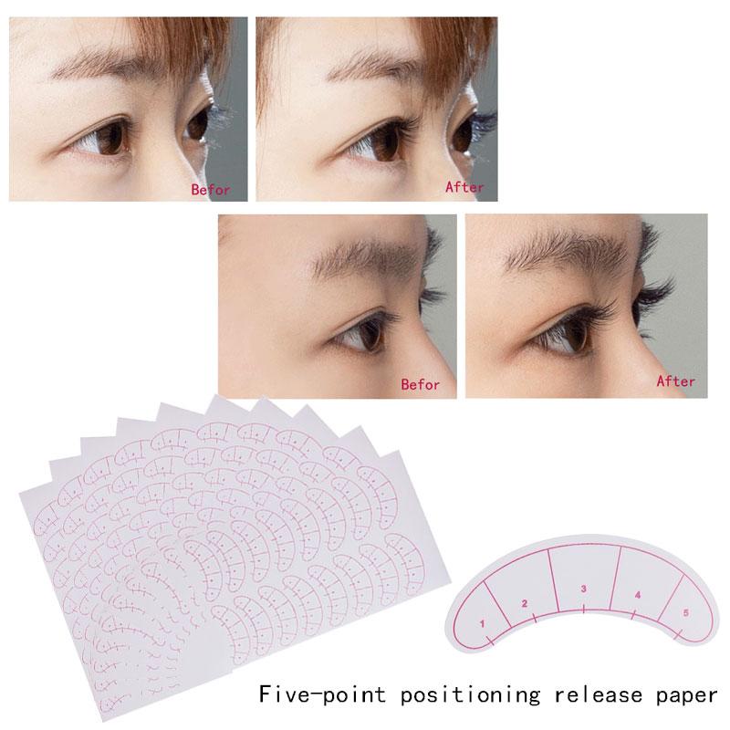 Pack Paper Patches 3d Eyelash Under Eye Pads Lash Eyelash Extension