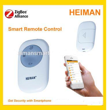 Hot selling ZigBee Wireless Remote Control which compatible with Zigbee gateway Alarm System freeshipping rs232 to zigbee wireless module 1 6km cc2530 chip