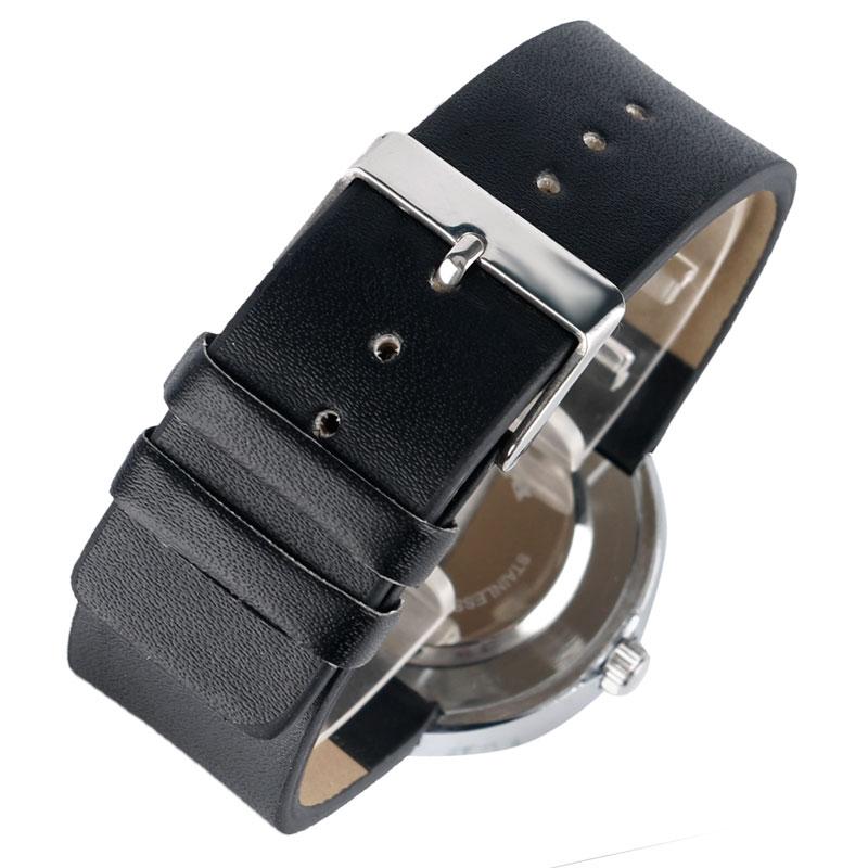 Horloge Heren Creatief Leren Band Band Armband Draaitafel Horloges - Herenhorloges - Foto 6