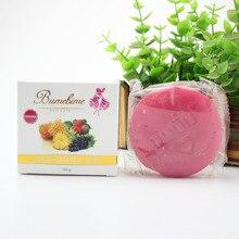 Bumebime мыло ручной работы Таиланд отбеливание мыло фруктов эфирное масло для ванны и тела работает Красота тайский лица Cleasing код