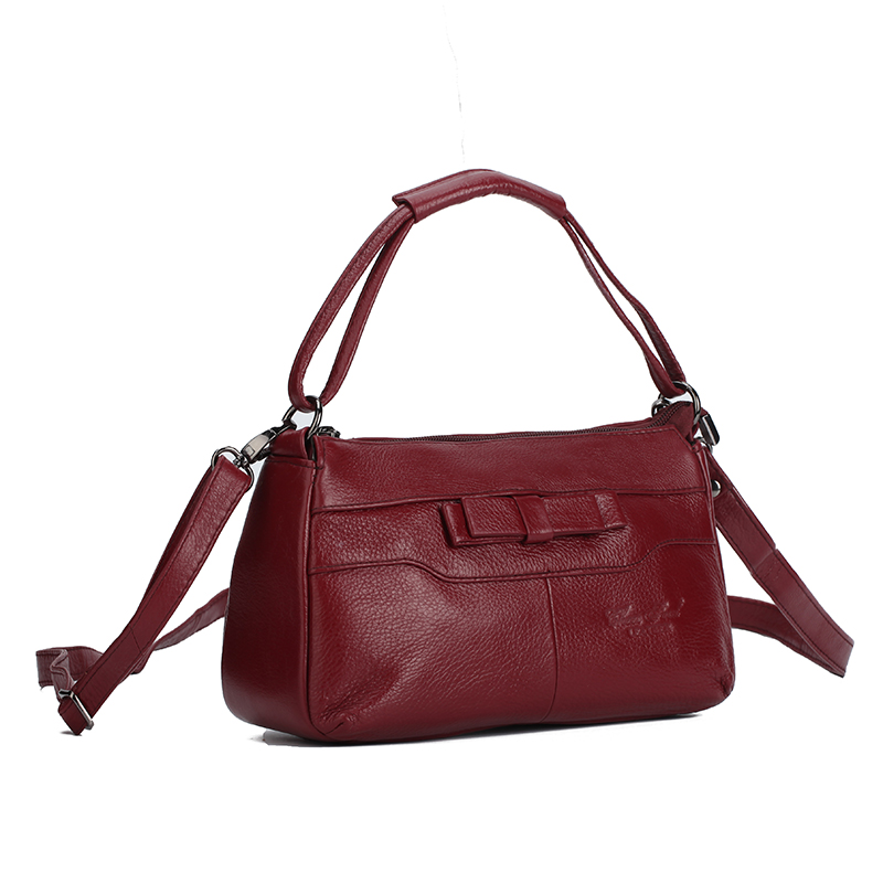Genuine Leather Brand Small Shoulder Bags For Women Luxury Tote Handbag Fashion Design Famale Crossbody Messenger Bag sac a main hot brand design fashion genuine leather high quality women large messenger bag tote shoulder bag sac a main mujer