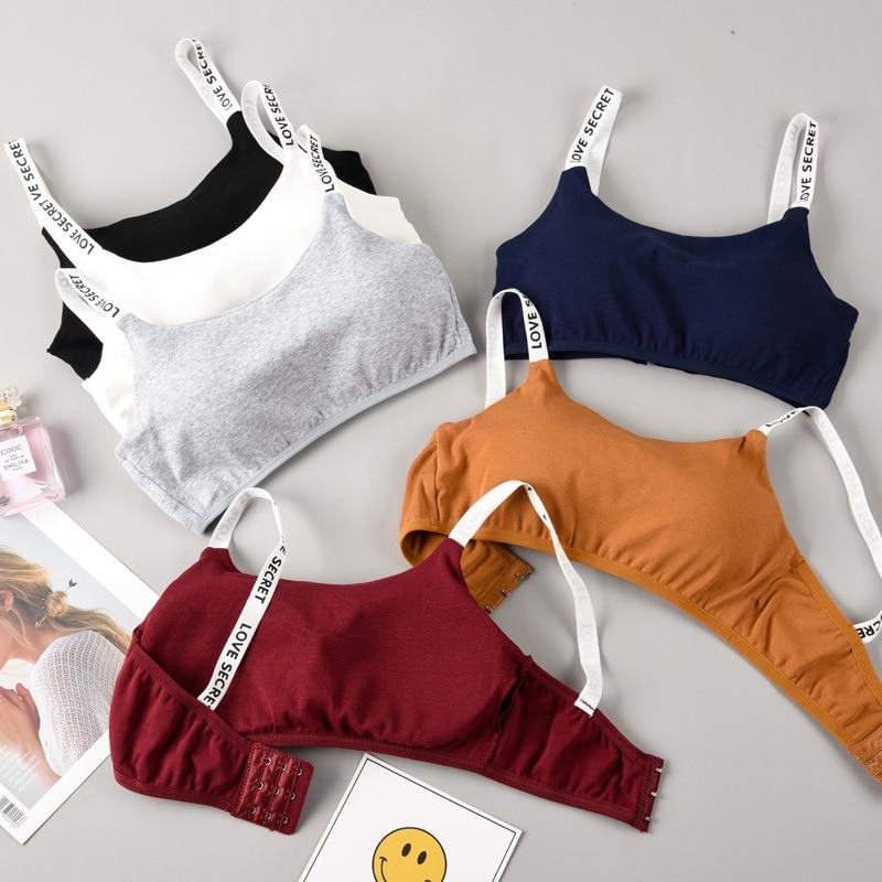 Yoga Bra Women Sport Top One Size Letters Cotton Sports Bra Jogging Running Fitness Sports Bra Sport Crop Top Women Gym Bra Tops