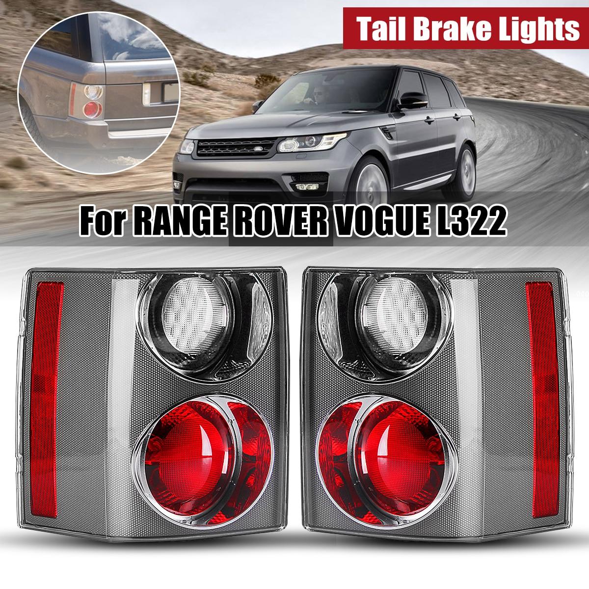 1 Pair Tail Brake Stop Light Rear Tail Brake Lights Fog Light Bumper Reflector For Land Rover Light RANGE VOGUE L322 2002 2009