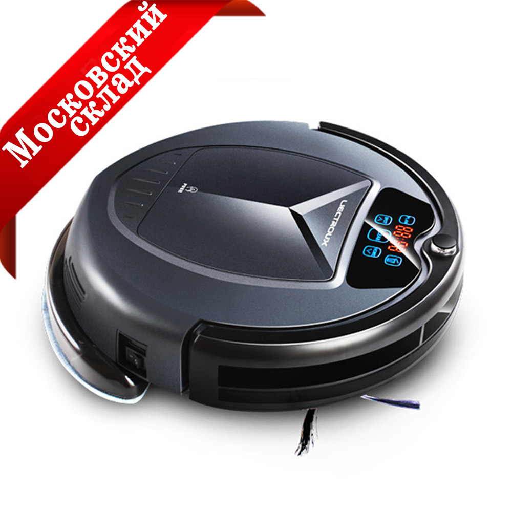 (Enviar a partir de Rússia) Atualizado B3000PLUS Robot Vacuum Cleaner, Limpeza a Seco e Molhado com Tanque de Água, grande Mop, Schedule, SelfCharge,