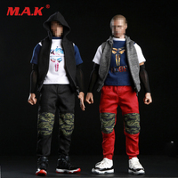 1/6 Male Clothes Camouflage Combat Suit Jacket Pants & Sneakers for 12 inches Action Figure Accessory