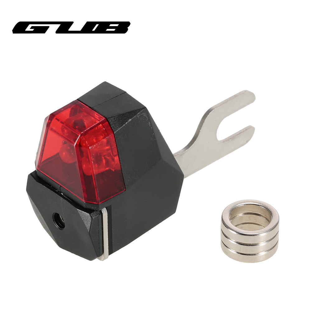 Gub cycling bicycle brake lights safety road bike warning light rear mtb cycling suitable for disc
