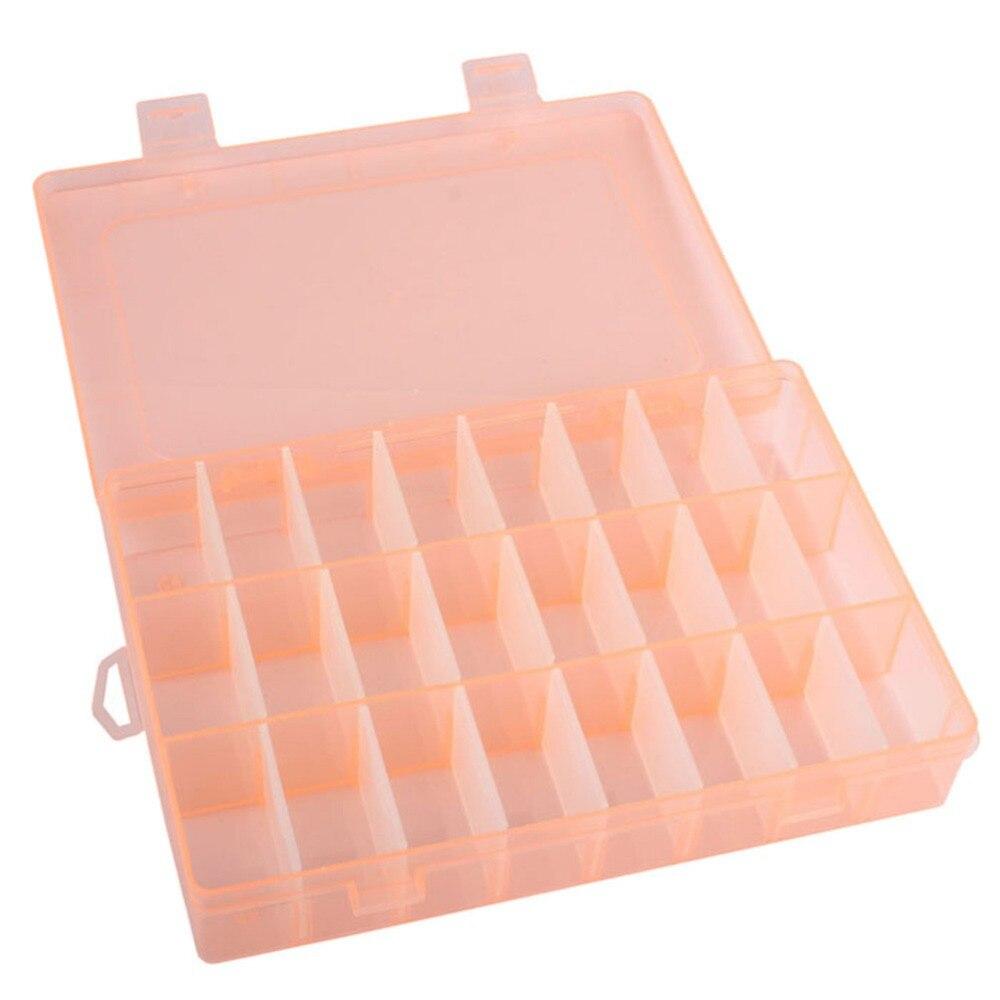 Jewelry Storage Box Case Craft Organizer Beads Container DIY Gift Sock Storage Box 8 Styles