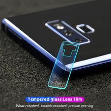 Osłona obiektywu aparatu do Samsung Galaxy S10 S9 S8 Plus A50 A30 A10 M30 M20 M10 A8 A6 Plus A7 A9 2018 uwaga 8 9 A8 A9 gwiazda A8S tanie tanio GerTong Zwykły Przezroczysty Aneks Skrzynki Protection Camera Len Tempered Glass For Samsung Galaxy M30 M20 M10 Wodoodporna