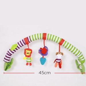 Image 2 - Océan forêt ciel bébé poussette voiture pince tour suspendu siège & poussette jouets enfant volant Animal jouet éducatif amovible 20% de réduction
