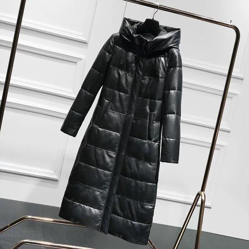 12cd98ab0ff4 Veste Duvet Peau Russie Phoenix Femmes En Bas Vers Mode Avec Le Hiver  Manteau Nouveau Black ...