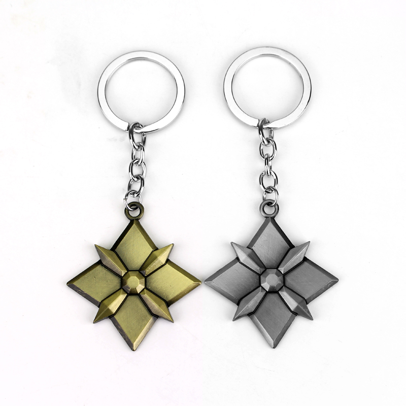 Game PS3 OW Keychains Metal Pendant Tracer Reaper Car Key Rings Fashion Key Holder Key Chain Can Drop shipping
