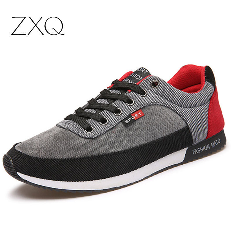2016 Spring Autumn Fashion Casual Shoes Men Patchwork Canvas Men Shoes Lace Up Flats Plimsolls Male Footwear Gumshoe power reserve 1x