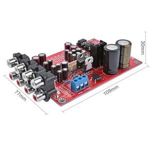 Image 4 - AIYIMA preamplificador de 6 canales, M62446, Control remoto de volumen, pantalla LCD 5,1, preamplificador de volumen de Audio NE5532 OP AMP para 5,1 Amp