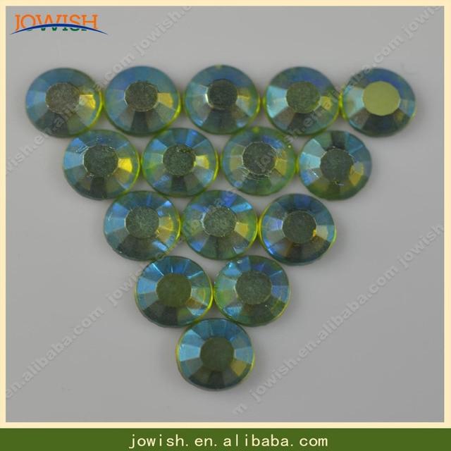 SS30 peridot AB rhinestones or Customized AB 50 gross bag hotfix Iron on korean  strass  00ad85b08328