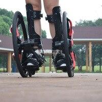 Outdoor Street Freeline Skateboard Slip Rubber Roller Skates 20 inch 2 Big Wheels Inline Skating Shoes Adult Size 37 45 TF 01