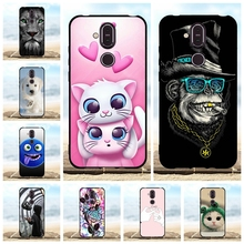 For Nokia 8.1 Protective Case Ultra Thin Soft TPU Silicone Phone Cover Animal Patterned X7 Bumper Capa
