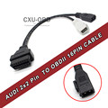 Free Shipping OBD2 VAG COM Adapter Connector Cable VW Skoda 2x2
