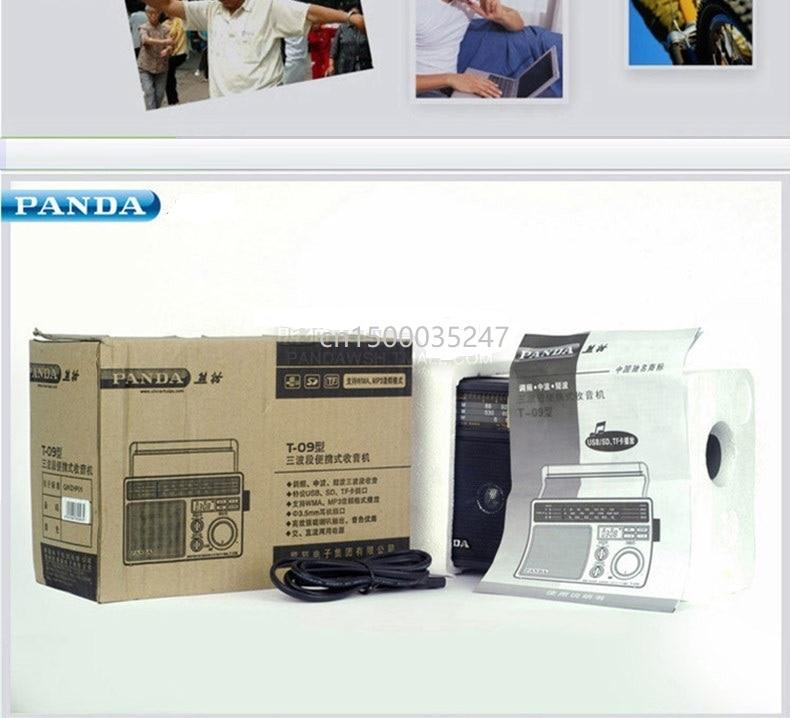Panda T 09 rádio fm mw sw