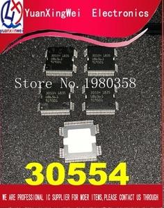 Image 1 - 100% Новинка 5 шт./лот 30554 QFP64 чип блока управления питанием для кузова автомобиля ME9.7 ECU Драйвер IC для ремонта Mer cedes