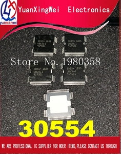 Image 1 - 100% New 5PCS/LOT 30554 QFP64 Car body computer board power driver chip ME9.7 ECU driver IC For Mer cedes Repair