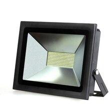 Ультратонкий LED Прожектор 100 Вт 60 Вт 30 Вт 15 Вт СВЕТОДИОДНЫЙ Прожектор IP65 Водонепроницаемый 220 В СВЕТОДИОДНЫЙ Прожектор наружного Освещения