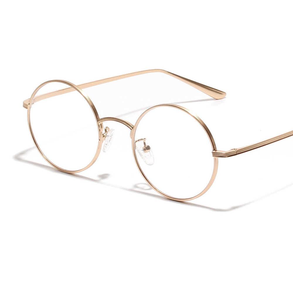 73ca623741a ... Kachawoo small round sunglasses women gold metal frame yellow red circle  sun glasses men retro eyeglasses