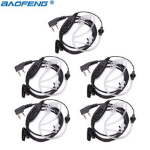 5Pcs Baofeng UV 82 Covert Air Acoustic Tube Dual PTT Earphone for BAOFENG UV 82 UV