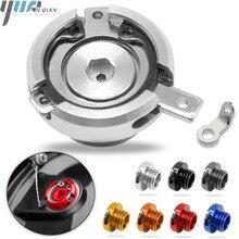 M20*2.5 Motorcycle Reservoir Engine Oil Filter Cover Cap For HONDA CB1000R 08 16 ST1300/ST1300A 2003 07 CBR125R 2005 SPORT 1000