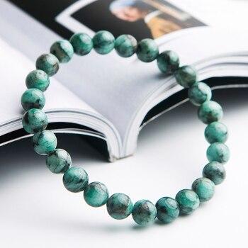 Bracelet Jaspe Vert Pour Homme 3
