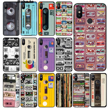 Babaite Vintage Magnetic tape Cassette DIY Beautiful Phone Accessories Case for Xiaomi Mi 8 SE 6 Note 3 MIX 2 2S Cover